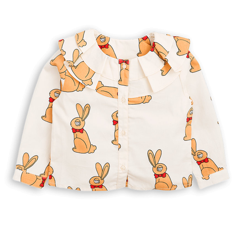 Mini Rodini Rabbit Woven Blouse