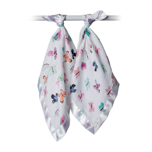 Butterfly Security Blanket, 2-pack
