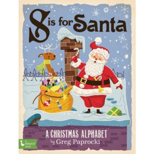 S is for Santa Board Book