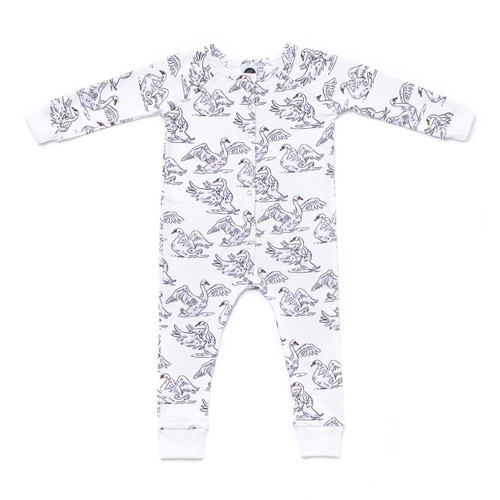 Izzy & Ferd Swan Long Sleeve Jumpsuit