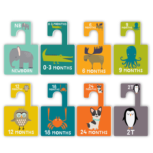 Closet Divider Set, Animal Lover (Lucy Darling)