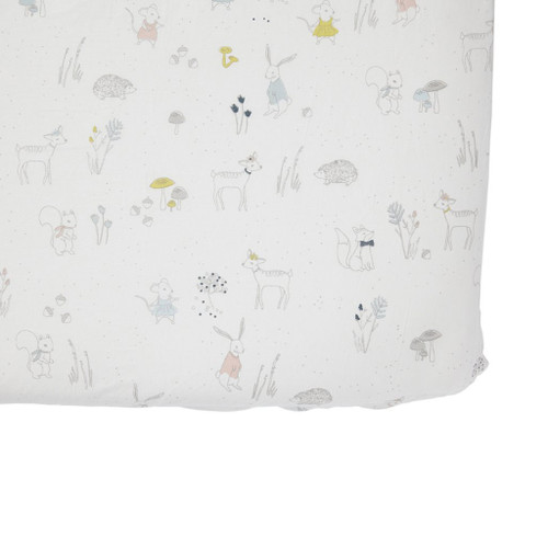 Magical Forest Crib Sheet