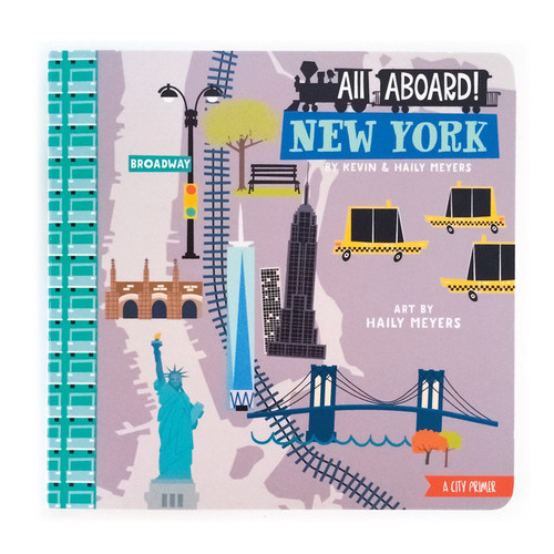 All Aboard New York: A Landscape Primer Book