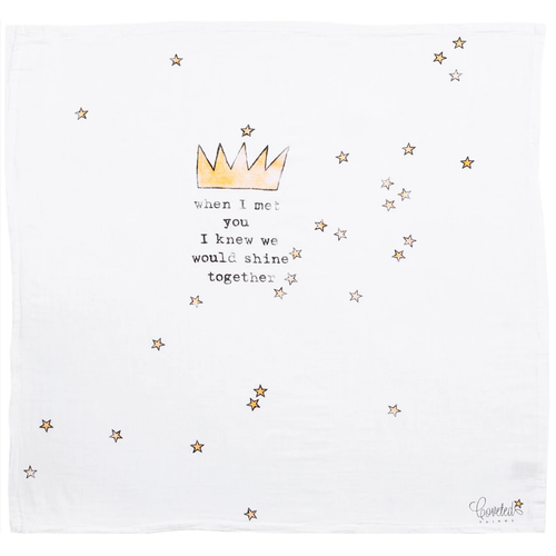 'Crown' Organic Swaddle Scarf™