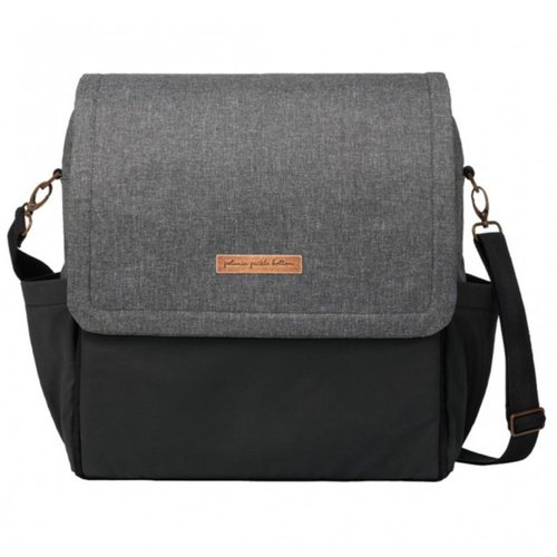 Petunia Pickle Bottom Boxy Backpack, Graphite/Black