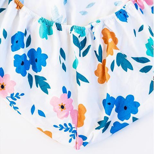 Organic Cotton Changing Pad, Summer Floral