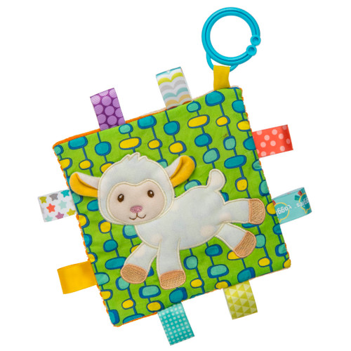 Taggies Crinkle Stroller Toy, Lamb