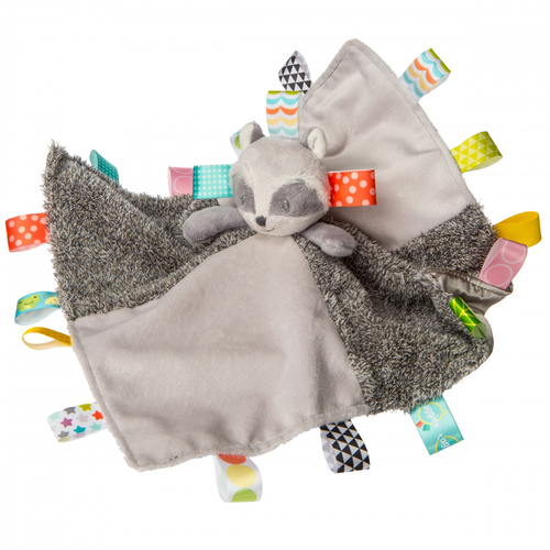 Taggies Raccoon Activity Security Blanket