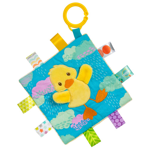 Taggies Crinkle Stroller Toy, Baby Duck