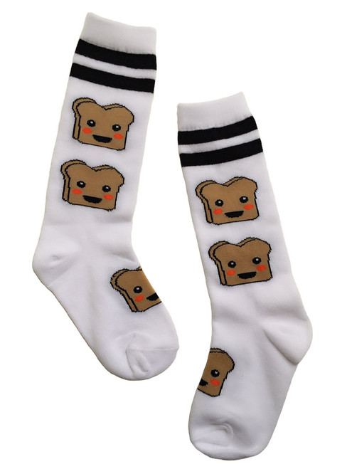 SpearmintLOVE Toast Socks, 4 - 6 yrs.