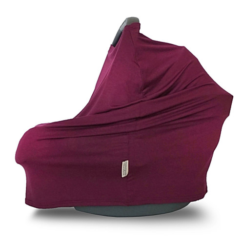 Covered Goods Multi Use Car Seat Cover, Burgundy