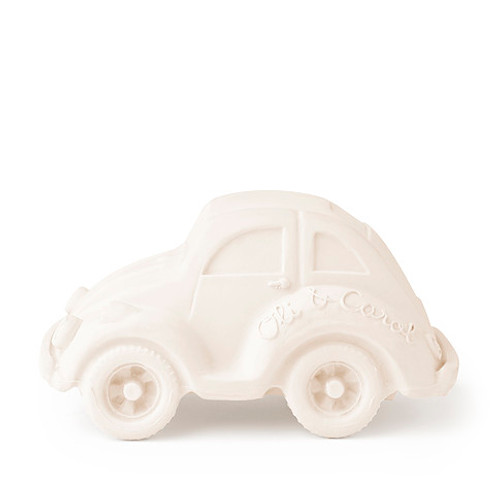 XL Beetle Car, White
