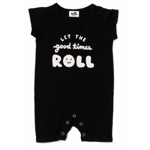 Good Times Shorts Romper