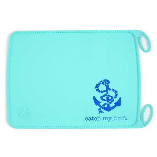 Chewbeads Silicone Roll-up Placemat, Sailor