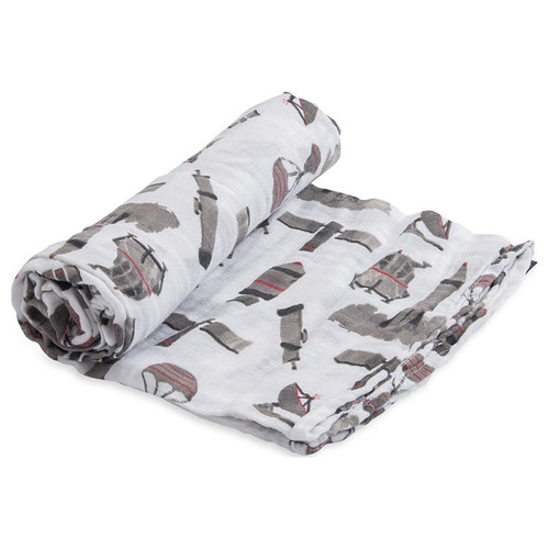 Muslin Swaddle, Ground Control