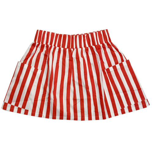 Red/White Pocket Skirt