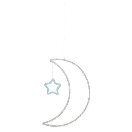 Moon & Star Wall Decoration