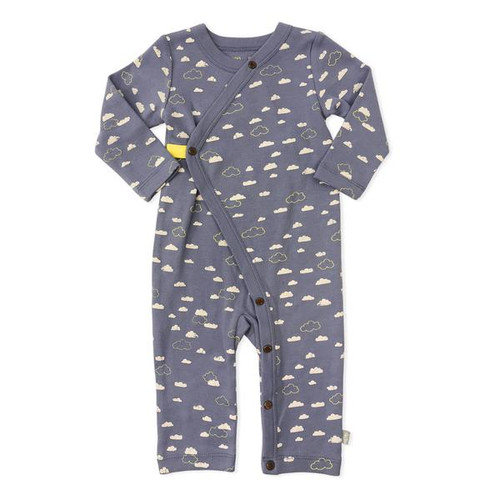 Organic Cotton Coverall, Cloudy Sky