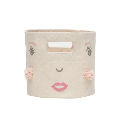 Peek-A-Boo Mini Bin, Girl