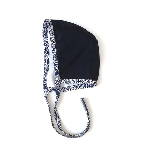 Baby Bonnet, Navy Forest