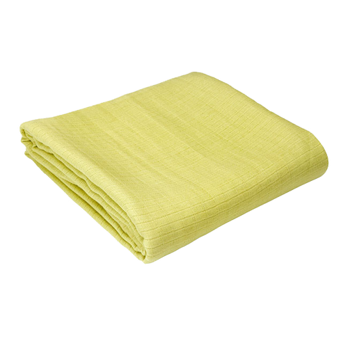 Organic Swaddle, Lime Green