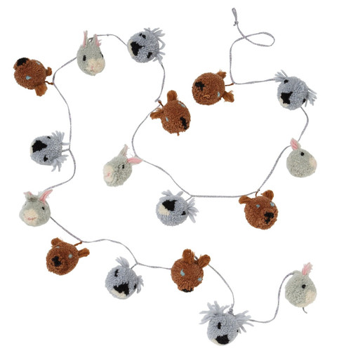 Animal Pom Pom Garland