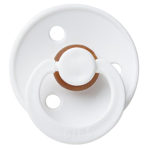 Classic Round Pacifier, White