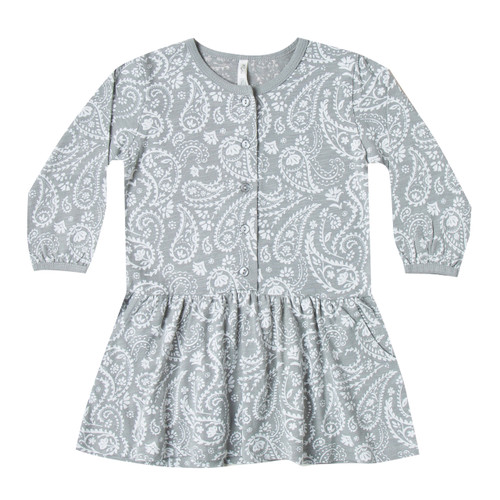 Rylee & Cru Paisley Button Up Jersey Dress