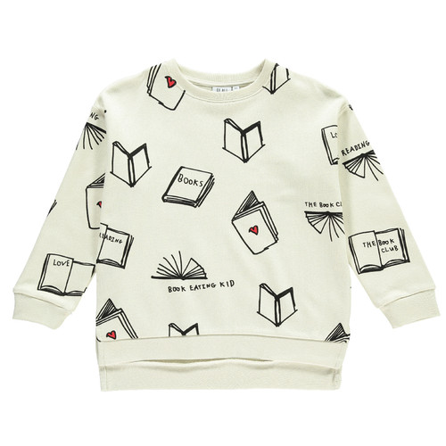 Relaxed Fit Sweatshirt, Books