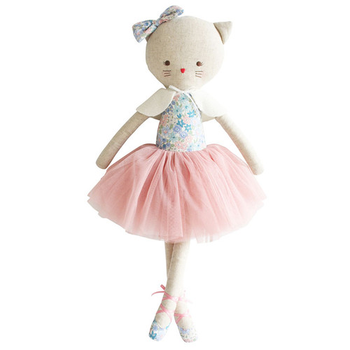 Adelein Kitty Cat Doll, Liberty Blue