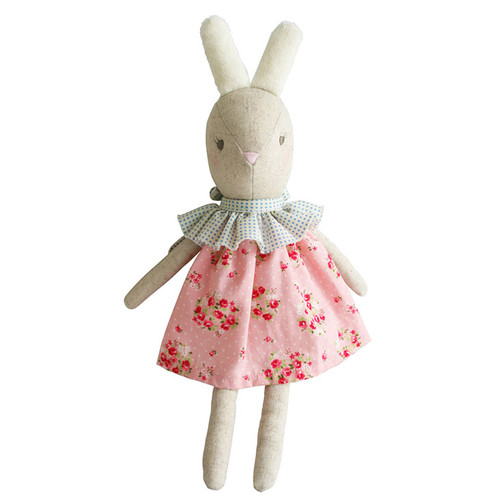 Betsy Ballet Bunny, Pink Floral