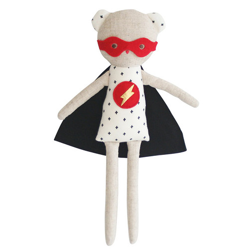 Super Hero Ted Rattle