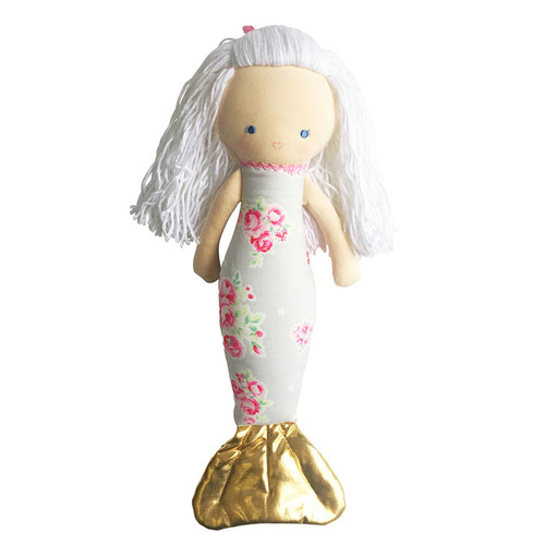 Mermaid Doll, Grey