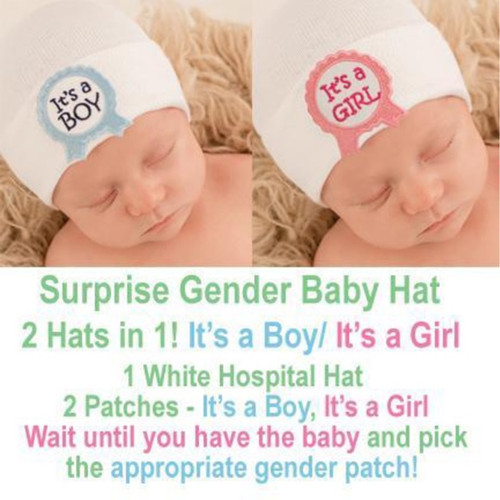 Newborn Hat, Girl/Boy Surprise Hat