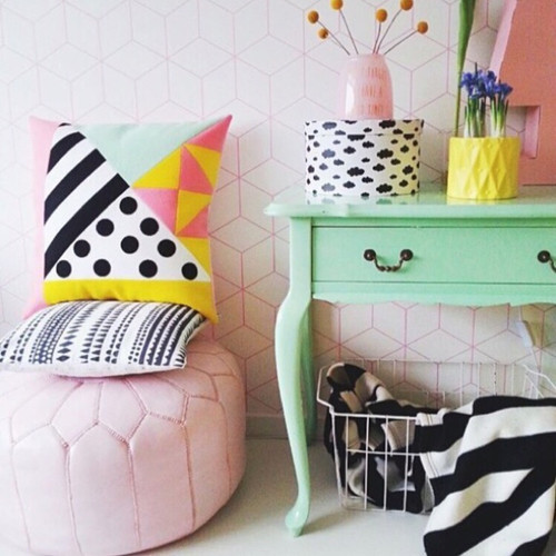 How About Frankie Cushion Cover, Polka Dot