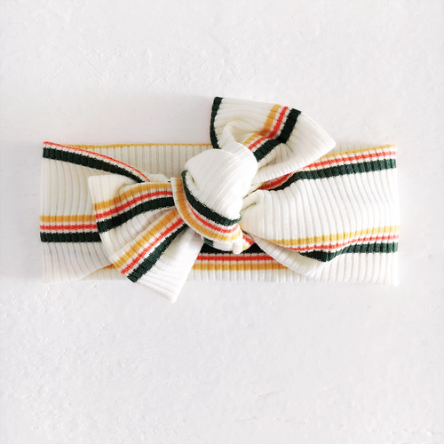 Tie On, Agave Stripes