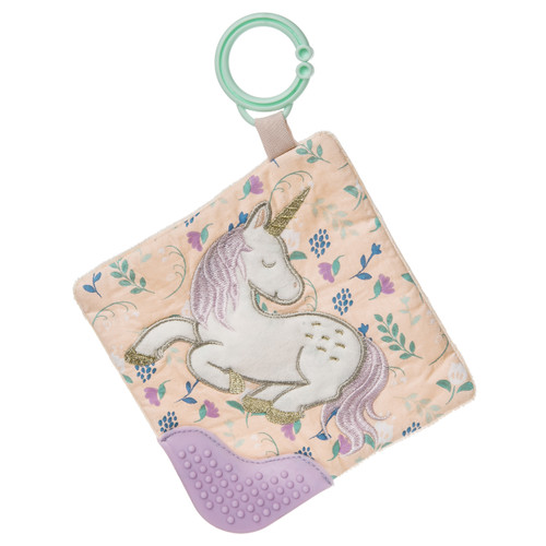 Taggies Crinkle Stroller Toy, Unicorn