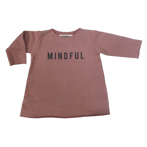 Fleece Mindful Dress, Cinnamon