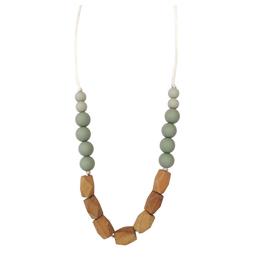 Harrison Teething Necklace, Succulent