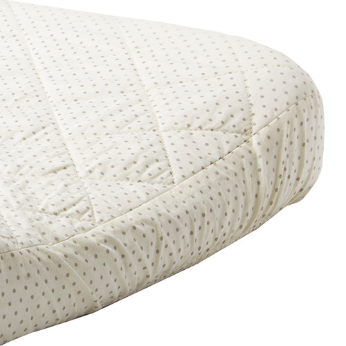 Changing Pad Cover, Grey Pin Drop