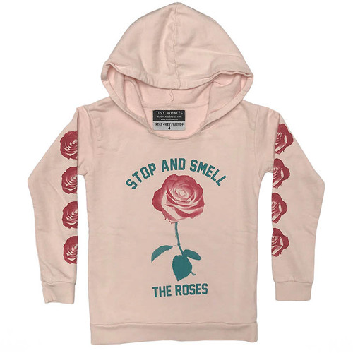 Smell the Roses Hooded Sweatshirt