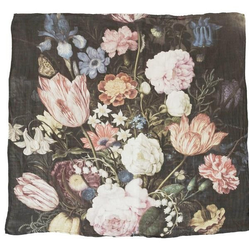 Tuscan Floral Bamboo Swaddle