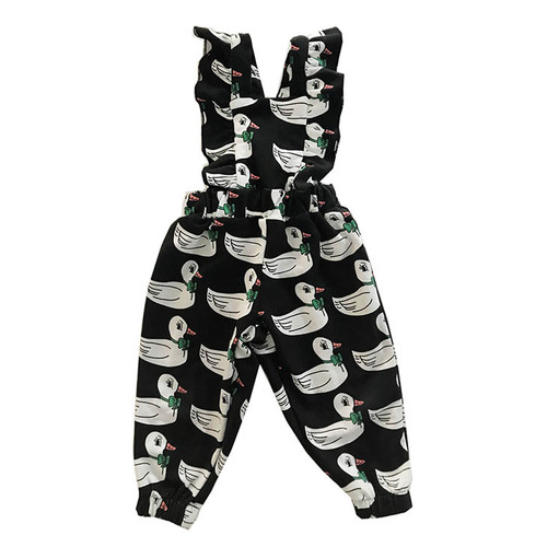Ruffled Jumpsuit, Ducks