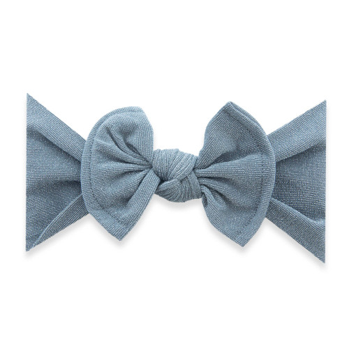 Shimmer Knot Bow, Silver