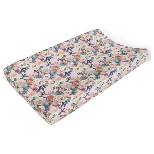 Dusk Rose Changing Pad Cover