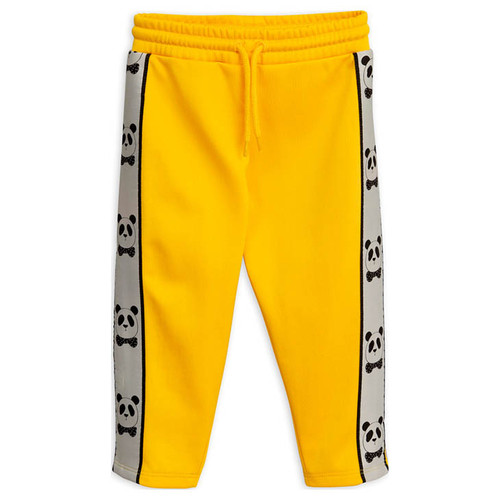 Mini Rodini Panda Pants, Yellow