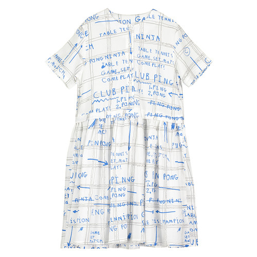Button Front Dress, Game Plan