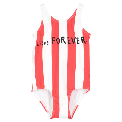 Swimsuit, Deck Chair Stripe