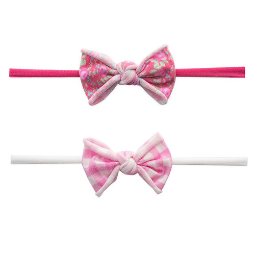 2 Pack Bow Set, Pink Pack