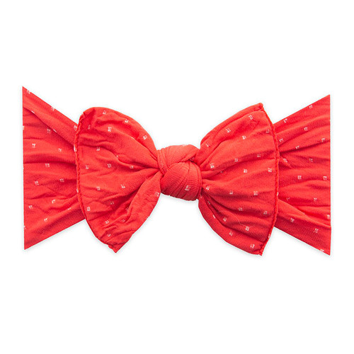 Knot Bow, Cherry Dot